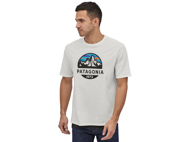Patagonia Fitz Roy Scope Organic T-Shirt Homme, white